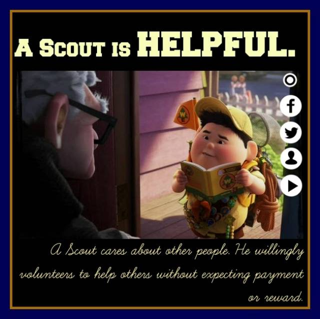 A Scout is Helpful
